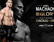 Ariel Machado wins the 4-man contender tournament at Glory 38, Chicago
