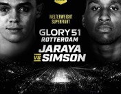 Miles Simson vs Mohammed Jaraya at GLORY 51 in the Welterweight Superfight