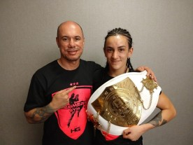 Jady Menezes is the new Super BantamWeight world champion