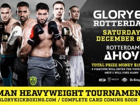 Upcoming: Glory 62 in Rotterdam