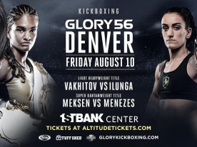 GLORY 56 Denver - Weigh Ins