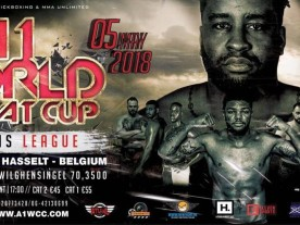 Errol Zimmerman will fight for the A1 World Combat Cup