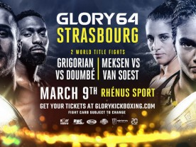 Harut Grigorian and Esma HassHass at Glory 64