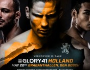 Athletes Hemmers Gym at GLORY 41 Den Bosch