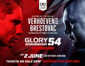 Marat and Harut Grigorian at GLORY 54 in Birmingham
