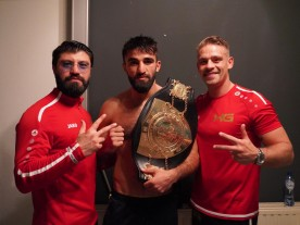 Marat Grigorian is the NEW lightweight champion of the world!