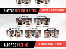 Glory 59 Tonight in Amsterdam