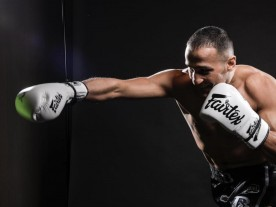 Harut Grigorian unfortunally loses his Weltherweight title at Glory 64