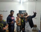 Junior fights Hemmers Gym in Wuppertal