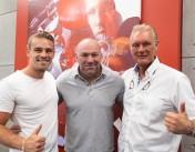 Cor and Nick Hemmers op bezoek bij UFC in Las Vegas
