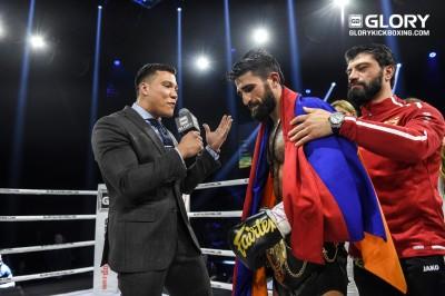 Marat Grigorian is NEW lightweight champion of the World!